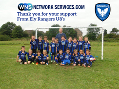 May 2015 - Well done to the Ely Rangers junior team this season